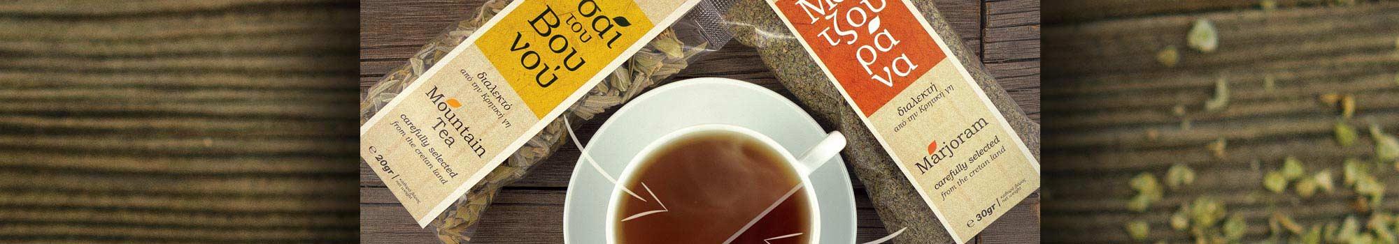 τσάι του βουνού και μαντζουράνα iliostasio